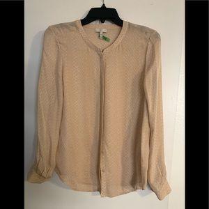 Hour silk blouse